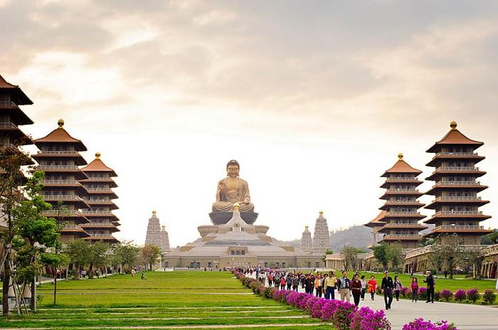 Du lịch Đài Loan: Chùa Phật Quang Sơn