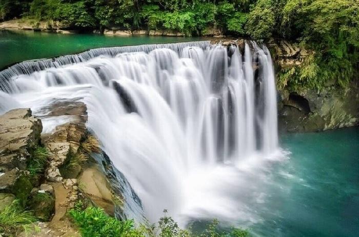 Du lịch Đài Loan: Thác nước Thập Phần