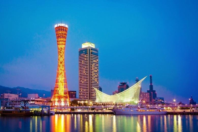 cầu cảng Kobe