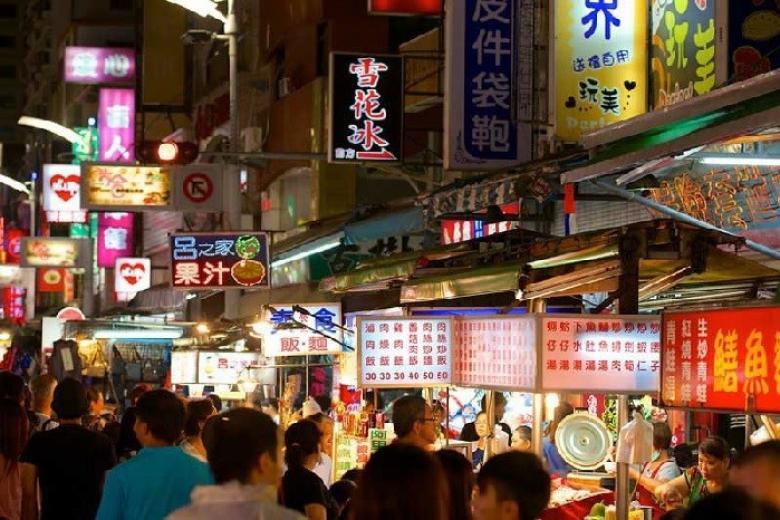 chợ đêm Lục Hợp