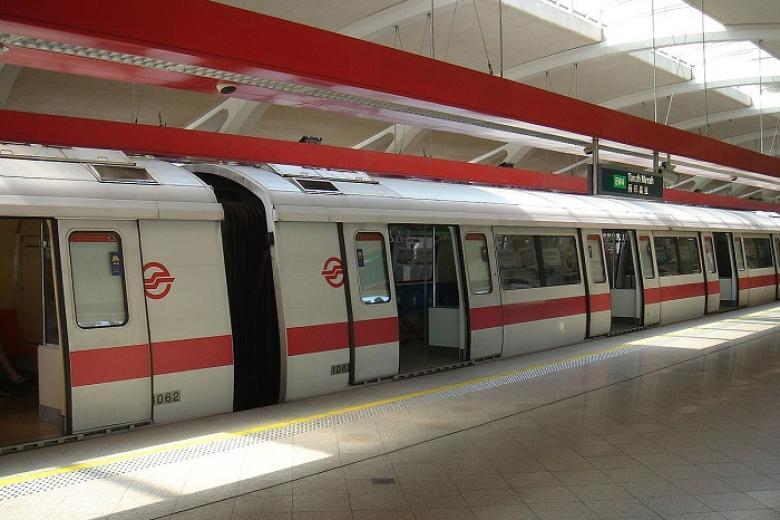 hệ thống tàu điện ngầm MRT