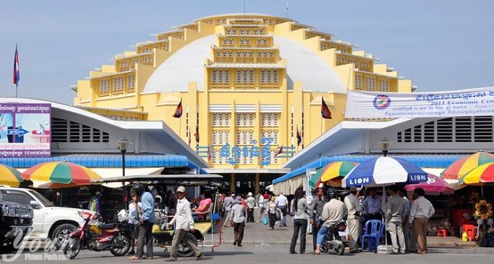 Du lịch Campuchia: Mua sắm tại Chợ Phsar Thmey