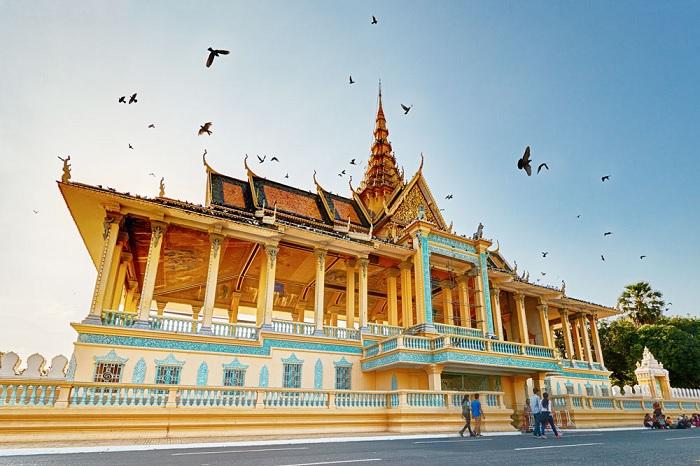 Du lịch Campuchia: Tham quan Cung điện Hoàng Gia