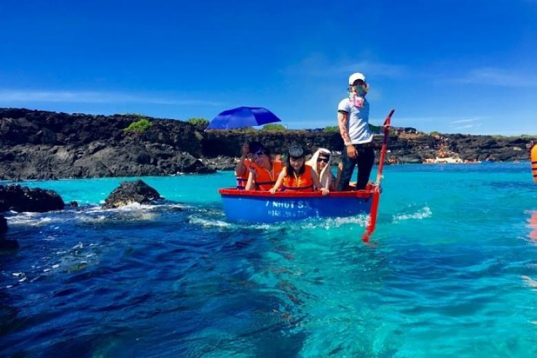 Câu cá ở đảo Lý Sơn