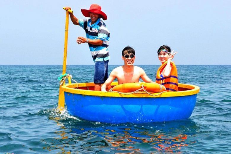 Vui chơi ở Đảo Lý Sơn