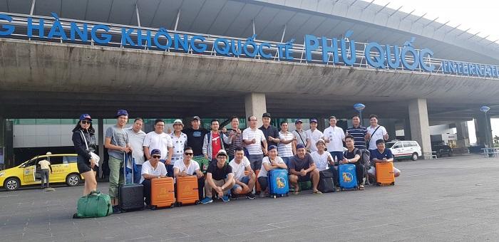 Du khách tham quan Phú Quốc
