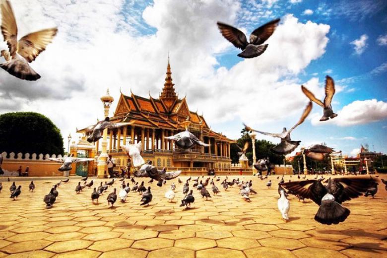 HCM - Siem Reap - Núi Kulen - Dòng sông 1000 Linga - PhnomPenh 4N3Đ
