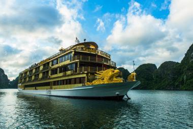 Hà Nội - Hạ Long Du thuyền Golden Cruise 5* 2N1Đ
