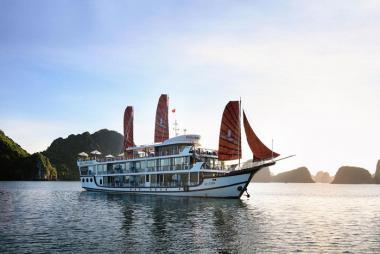 Hà Nội - Hạ Long Du thuyền Perla Dawn Sails 4* 2N1Đ