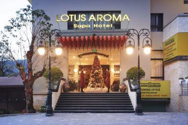 Combo Sapa 2N1Đ - Lotus Aroma Hotel 4* + Ăn Tối + Xe đưa đón