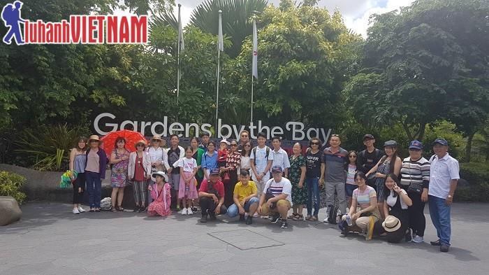 Đoàn khách du lịch Singapore