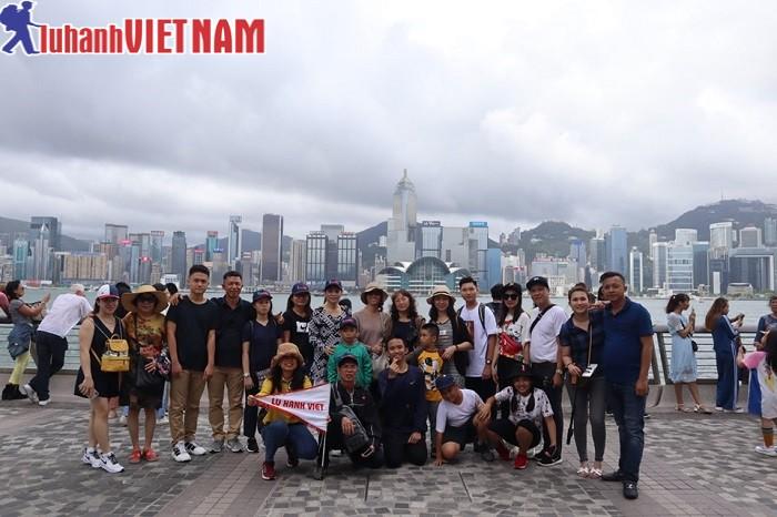 Đoàn khách du lịch Hồng Kông