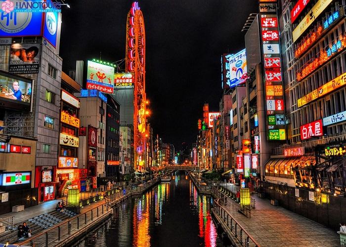 Khu mua sắm Shinsaibashi