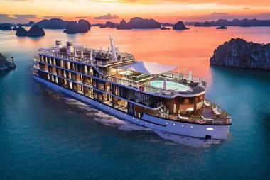 Hà Nội - Hạ Long - Du thuyền Heritage Cát Bà 5 sao 2N1Đ