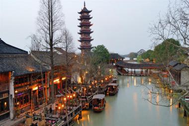 HCM - Thượng Hải - Ô Trấn - Disney Land 5N4Đ, Bay CA