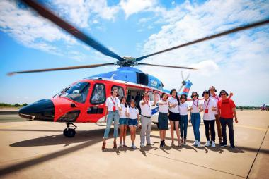 Hà Nội - Côn Đảo 3N2Đ (bay Trực Thăng + Vietnam Airlines)