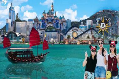 Quy Nhơn - Hong Kong - Disneyland 4N