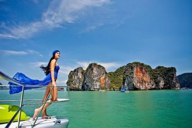 Cần Thơ - HCM - Thiên Đường Phuket - Đảo Phi Phi - Vịnh Phang Nga/City Tour 4N3Đ Bay Vietjet