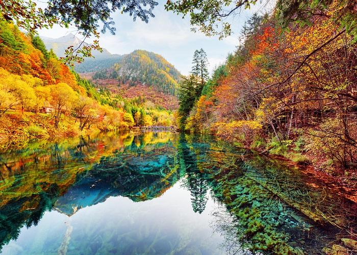 Jiuzhaigou_park_China_509194_3840x2400
