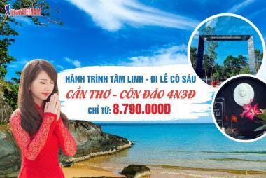 Hà Nội - Cần Thơ - Côn Đảo 4N3Đ, Bay Vietnam Airlines