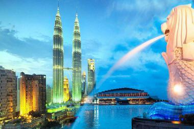 Quảng Ninh - Hà Nội - Singapore - Malaysia 6N5Đ Bay Tiger Air + Malido Air