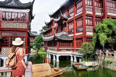 Đà Nẵng - Hà Nội - Bắc Kinh - Thượng Hải 5N4Đ Bay Vietnam Airlines