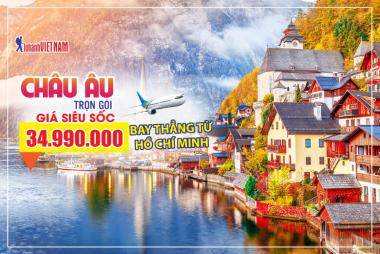 HCM - Đức - Hà Lan - Bỉ - Pháp - Luxembourg 8N7Đ - Bay thẳng Vietnam Airlines