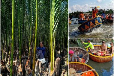 Tour Rừng Dừa Bảy Mẫu - Phố Cổ Hội An 1 Ngày.