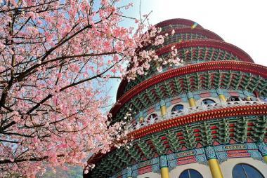 Hà Nội - Đài Bắc - Đài Trung - Cao Hùng - 5N4Đ Bay Vietjet Air Ngắm Hoa Anh Đào