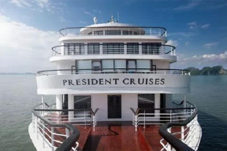 Tour Hạ Long 2N1Đ - Du Thuyền President 5 sao