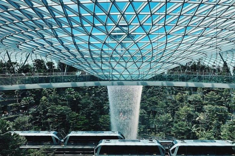 Khu phức hợp Jewel ở sân bay Changi