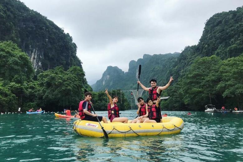 Tour Động Thiên Đường – Zipline Sông Chày Hang Tối 1 Ngày