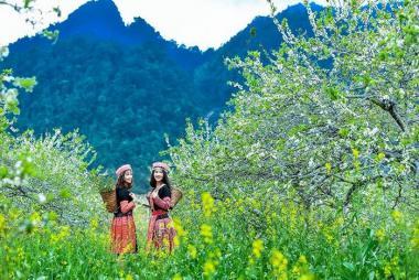 HCM - Hà Nội - Hoà Bình - Bản Lác - Mai Châu - Mộc Châu - Happy Land - Săn Mây Tà Xùa 4N3Đ