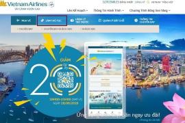 Hướng dẫn check in online vé máy bay