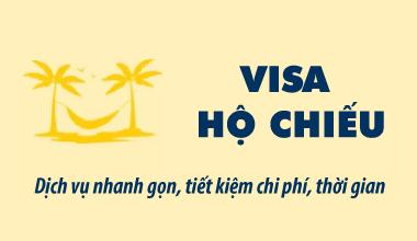 Dịch vụ làm Visa, hộ chiếu